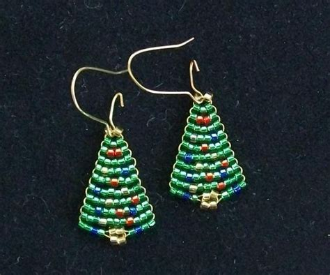 trees christmas trees and earrings on pinterest