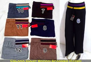 Celana Kulot Elif Be 1 batik murah