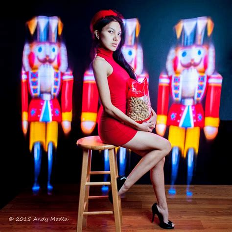 Mely Stripe andy modla photography nutcracker light painting