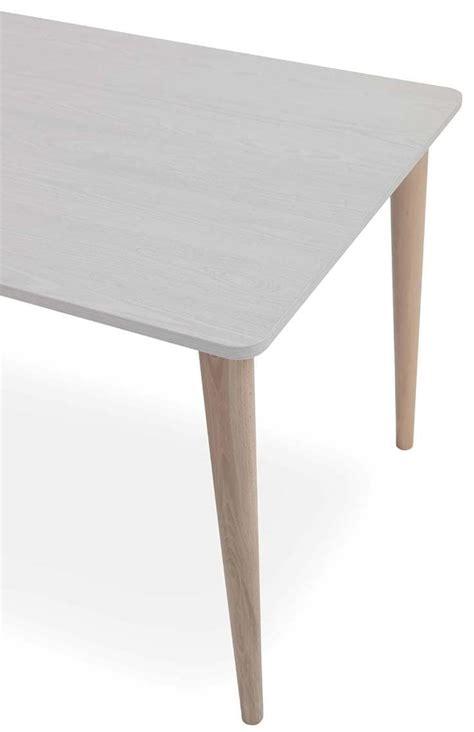 tavolo faggio tavolo allungabile in faggio piano in melaminico idfdesign