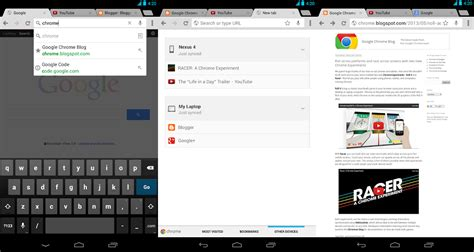 android chrome chrome 28 for android translate fullscreen on tablets