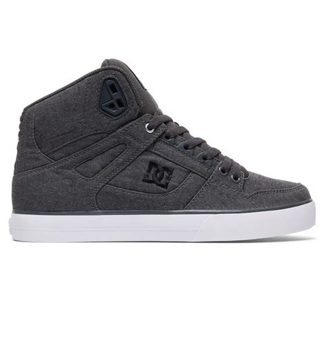 Sepatu Sneakers Korea W105 Grey s spartan high wc tx se high top shoes 888327934969 dc shoes