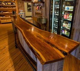 Best Wood For Bar Top by Custom Bar Top Bo Oe Custom