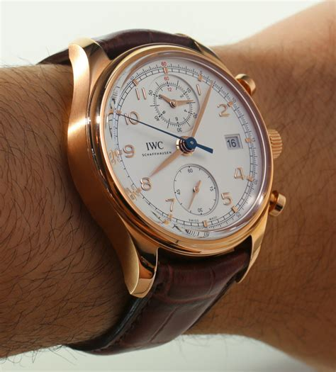 iwc portuguese chronograph classic review page 3