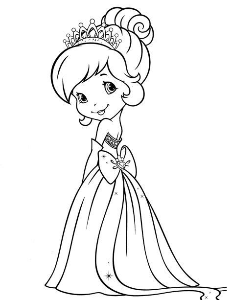 strawberry shortcake coloring pages strawberry shortcake