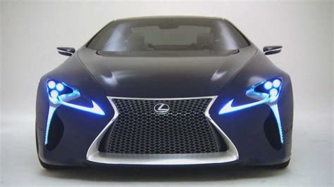 lexus lf lc price blue lexus lf lc concept car youtube