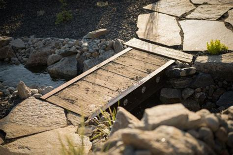 how to build a small wooden bridge build a bridge from reclaimed materials how tos diy