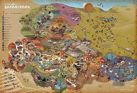 map san diego zoo safari park san diego safari park thrillz the ultimate theme park