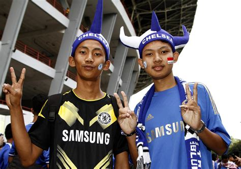 chelsea fc indonesia chelsea fans photos photos chelsea v indonesia all stars