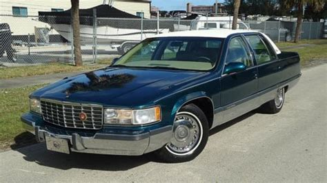 car repair manual download 1996 cadillac fleetwood parking system sell used 1996 cadillac fleetwood brougham 1 owner chrome wheels sharp in pompano beach