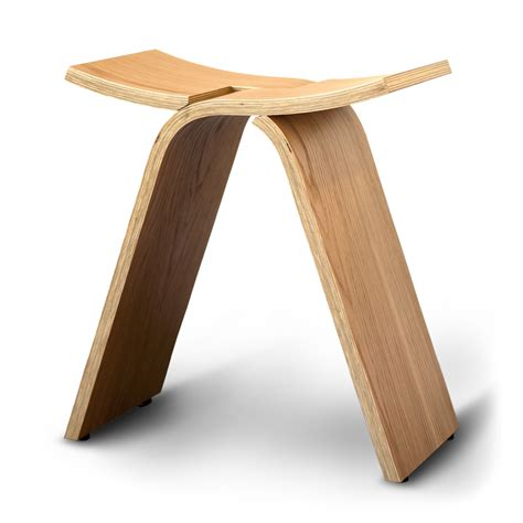 Bent Plywood Stool by Buy A Custom Made Interlochen Bent Plywood Stool Made To