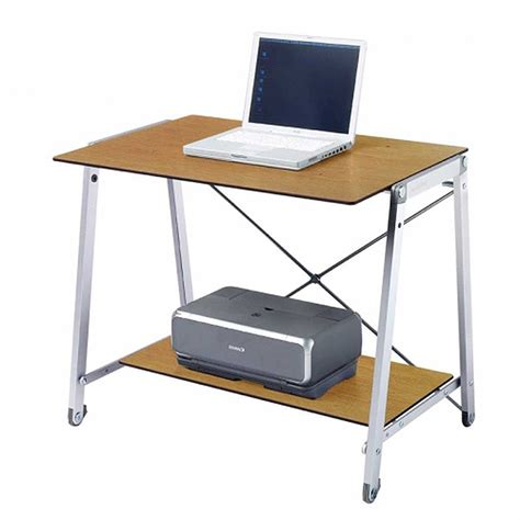 Small Rolling Computer Desk Small Rolling Computer Desk Laptop Mobile Desk For Home Office Wooden Portable Rolling