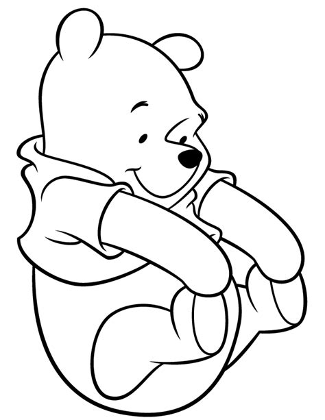 Cutest Winnie The Pooh Coloring Page H M Coloring Pages Winnie Coloring Pages