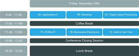 Program at a glance « DCIS 2014