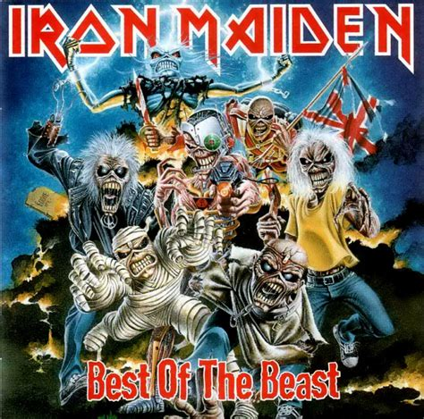 best iron maiden album cover iron maiden discography best of the beast