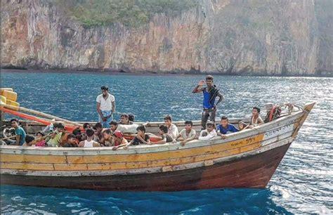 refugee boat news bangladesh denies refugee boat set sail from its shores
