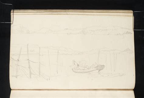 turners sketchbooks joseph mallord william turner stake net fishing at cromarty 1831 j m w turner sketchbooks