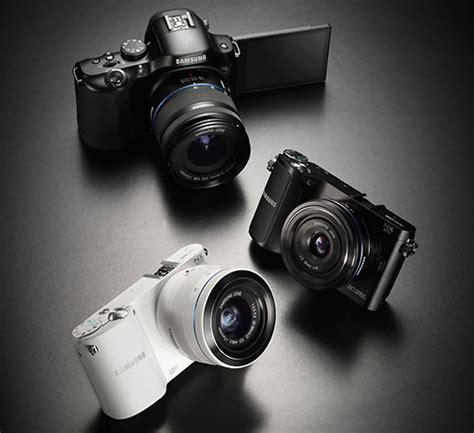 Kamera Mirrorless Samsung Nx210 samsung unveils new wifi equipped mirrorless range