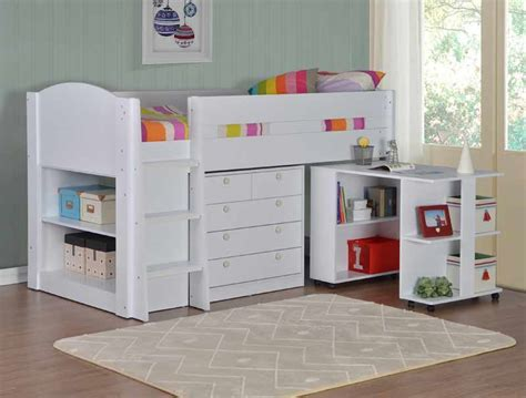 Flintshire Furniture Frankie White Cabin Bed Buy Online White Cabin Bed With Desk