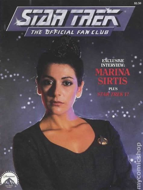 star trek fan club star trek the official fan club magazine comic books