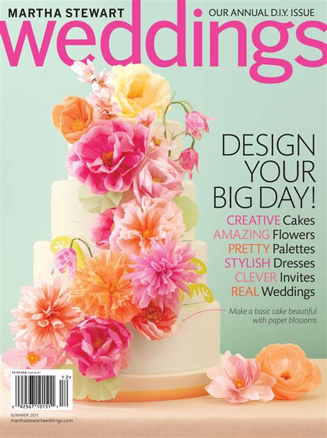 Martha Stewart Weddings by Sneak Peek Martha Stewart Weddings Summer 2011