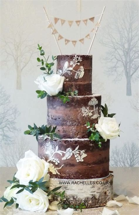 Chocolate Wedding Cake Ideas by The 25 Best Ideas About Chocolate Wedding Cakes On