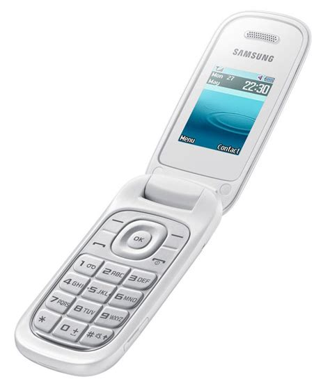 samsung e1270 flip phone mobile phones at low prices snapdeal india
