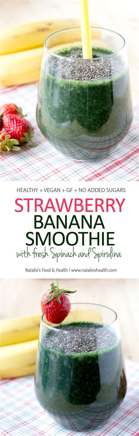 Detox Recipe With Yogurt Banana And by Best 25 Strawberry Banana Smoothie Ideas On