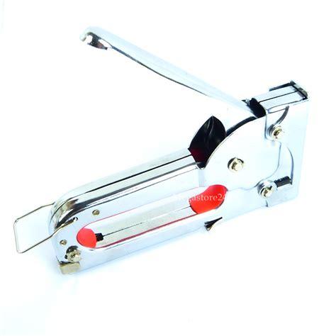 Upholstery Fabric Staple Gun by Hyfive Staple Gun Fabric Upholstery Tacker 1000