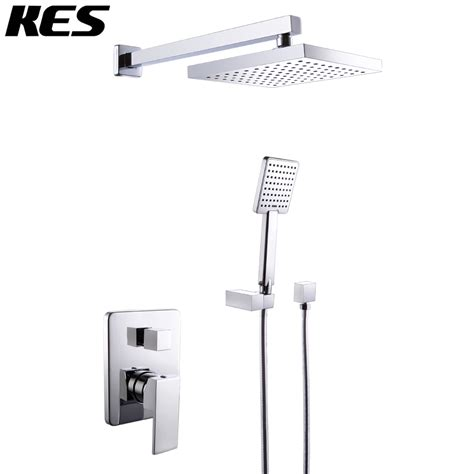 Bathroom Shower Valve Kes X6223 Bathroom Single Handle Shower Faucet Trim Valve Shower Complete Kit Modern