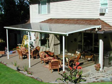 its a simple patio cover design   Lori's house   Pinterest