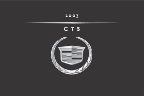 2008 Cadillac Cts Owners Manual by 2003 Cadillac Cts Owners Manual Just Give Me The Damn Manual