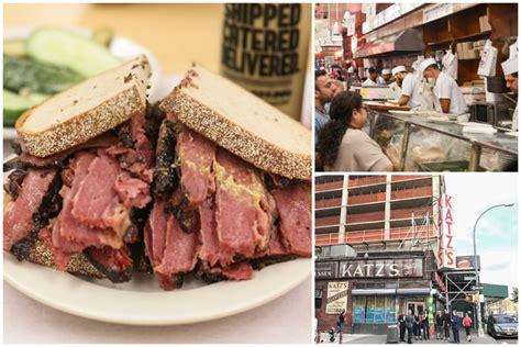 katzs delicatessen  deli   york city
