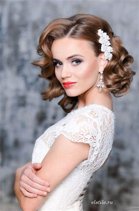 Bridal Hairstyles For Short Hair | 10 fantastic wedding hairstyles for short hair