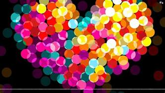colorful backround colorful hearts wallpapers wallpaper cave