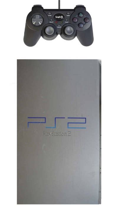buy playstation 2 console buy ps2 console 1 controller original silver