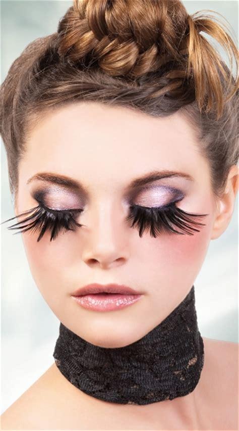 exotic black feather eyelashes black feather fake