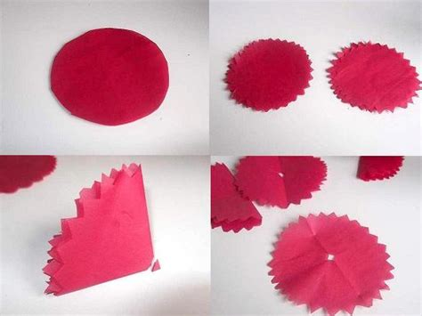 How Do You Make A Tissue Paper Flower - make tissue paper flowers
