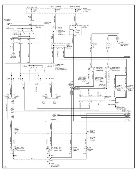 2003 dodge ram 2500 trailer wiring diagram wiring diagrams