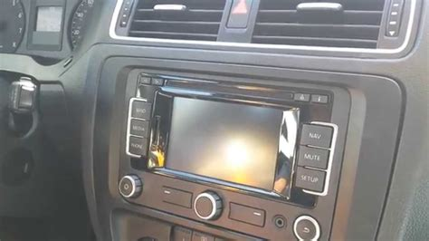 motor repair manual 2011 volkswagen jetta navigation system how to remove radio navigation from vw jetta 2011 for repair youtube