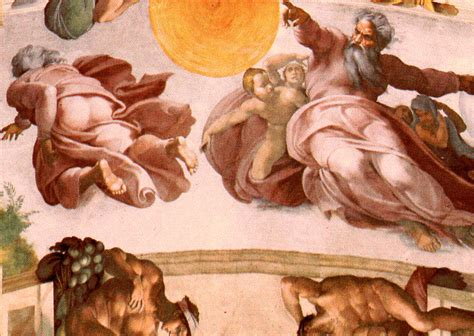 Sistine Chapel Ceiling Adam And God by God S Botticelli S Mars