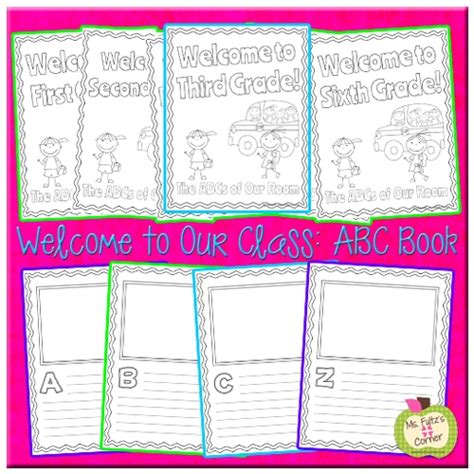 abc book template 210 best images about writer s workshop on