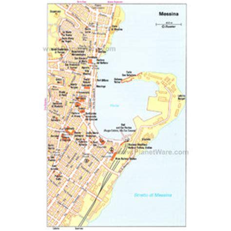 ledusa italy map tourist map of messina italy