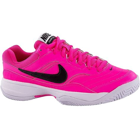 nike tennis shoes for nike court lite s tennis shoe pink black