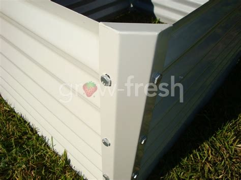Colorbond Planter Boxes by 2x Greenhouse Colorbond Diy Raised Planter Box Garden Bed