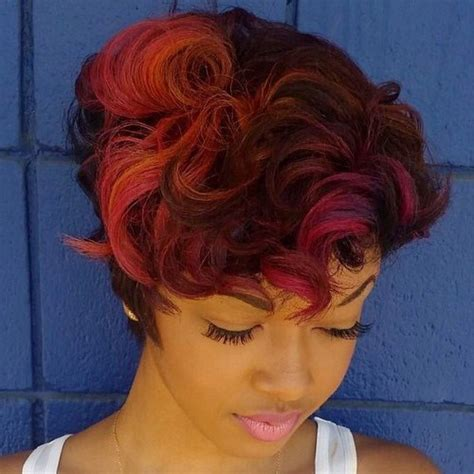 hairstyles with orange highlights 20 edgy ways to jazz up your short hair with highlights