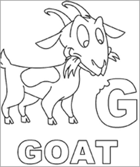 goat coloring pages kindergarten goat coloring page babygoatfarm goatie goats and their