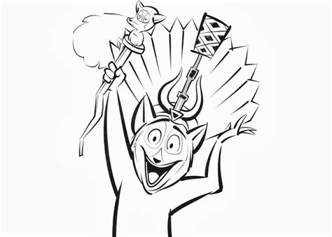 king julien coloring page king julien madagascar coloring page free coloring pages