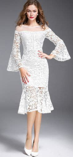 Lace Dress Flower Brukat Back Flasz Diamond2935 persica lace dress the shoulder would to be for a special occasion so impractical