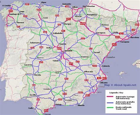 print driving directions in spanish image gallery spanish motorway
